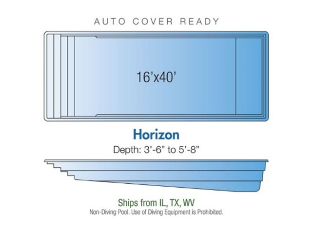 Horizon pool design layout