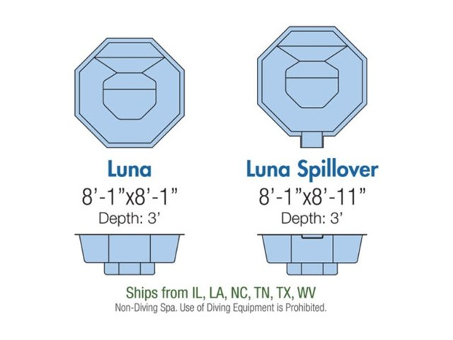 Luna spa layout