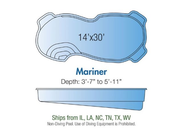 Mariner pool design layout