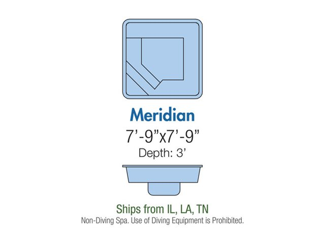 Meridian spa layout