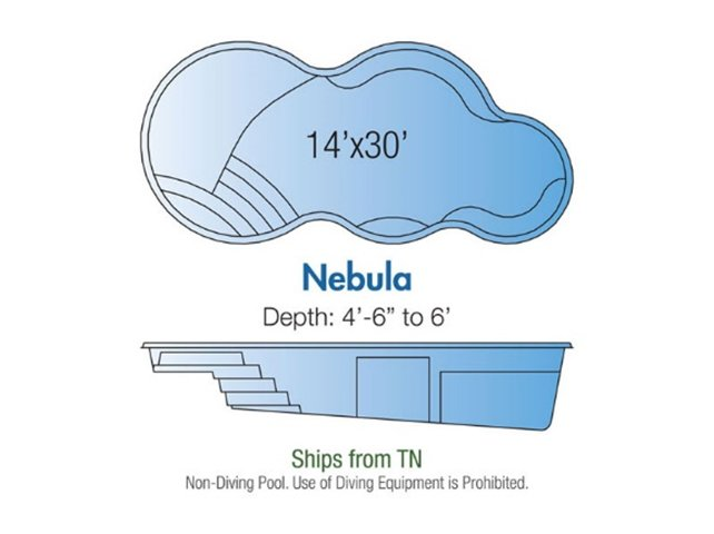 Nebula pool design layout