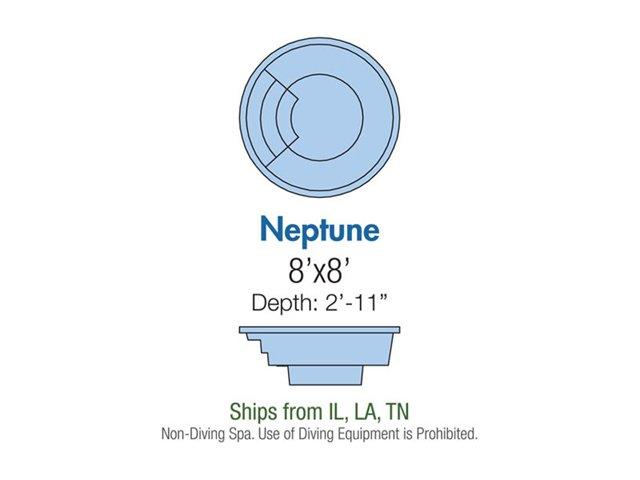 Neptune spa layout