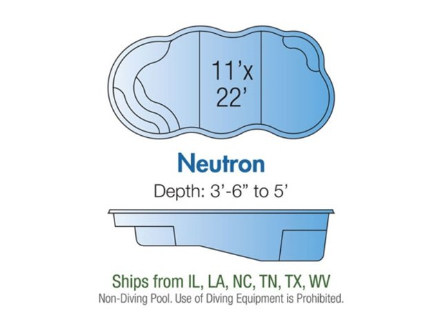 Neutron pool design layout