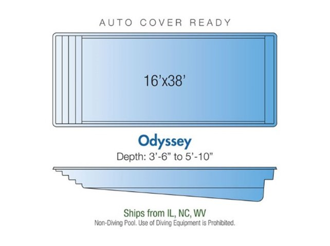 Odyssey pool design layout