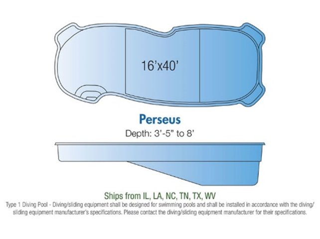 Perseus pool design layout