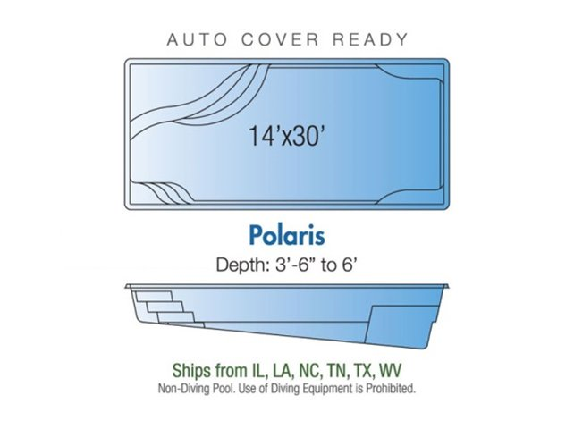 Polaris pool design layout