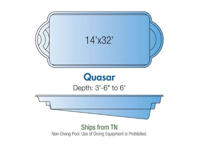 Quasar pool design layout