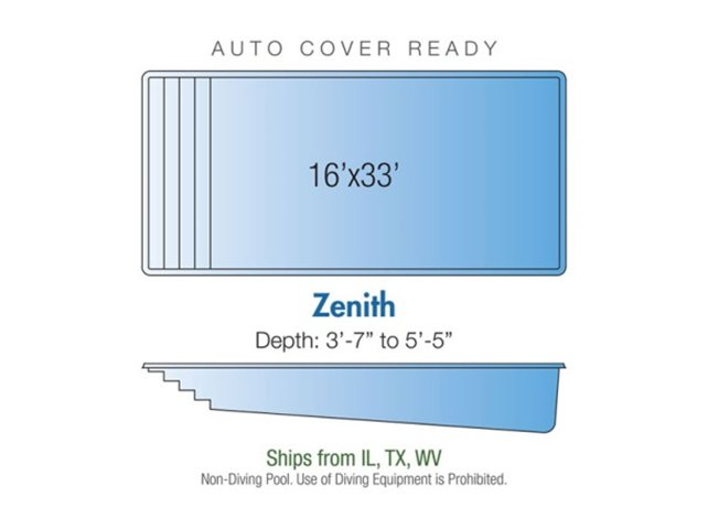 Zenith pool design layout