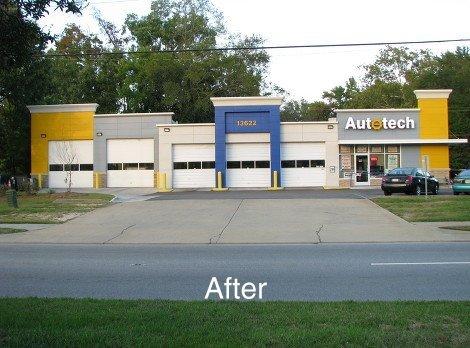 Autotech building - after