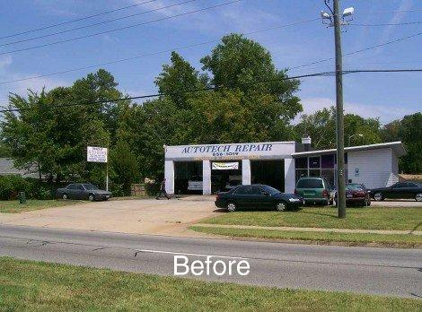 Autotech building - before