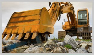 Excavating rocks