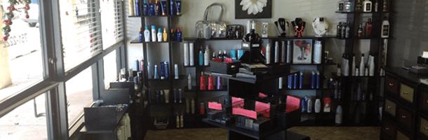 Inside the capello salon