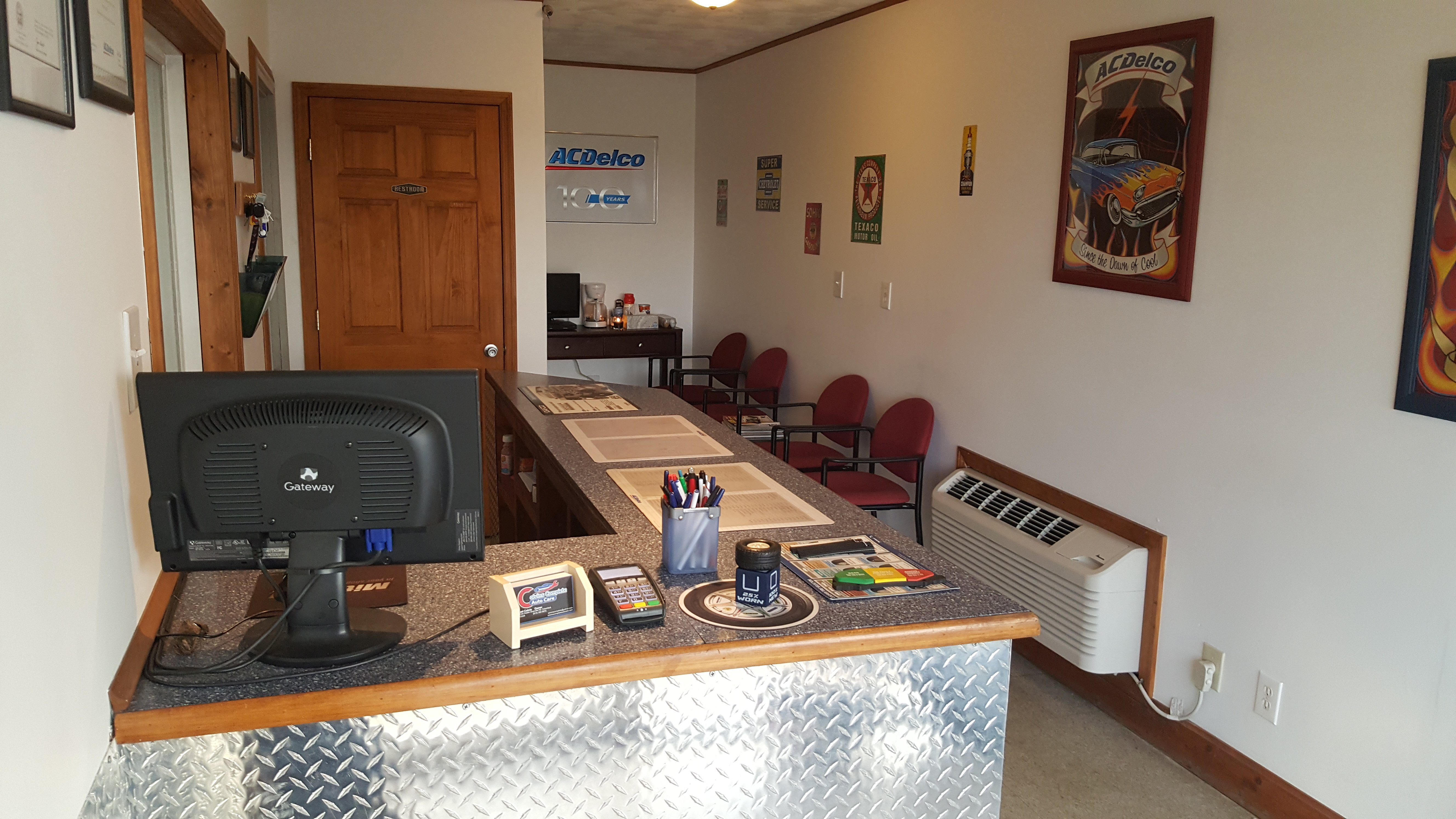Company front office
