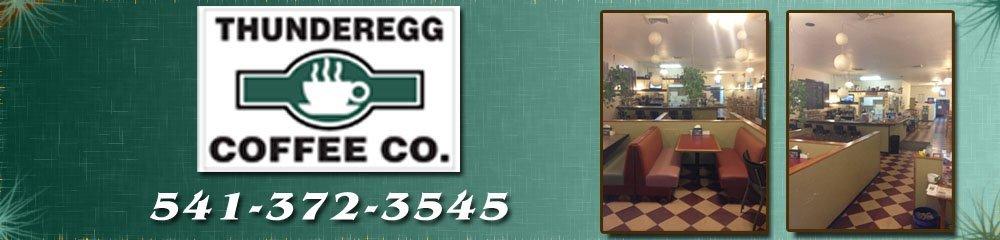 Coffee Shop - Nyssa, OR - Thunderegg Coffee Co.