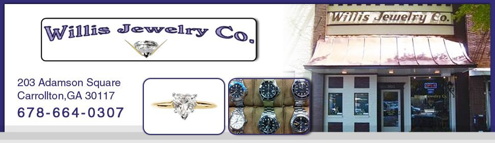 Jewelry - Carrollton, GA - Willis Jewelry Co.