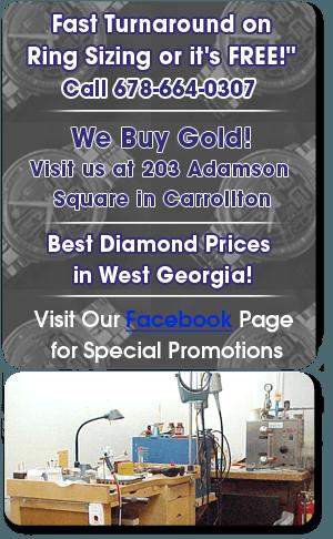 Jewelry Repair - Carrollton, GA - Willis Jewelry Co.