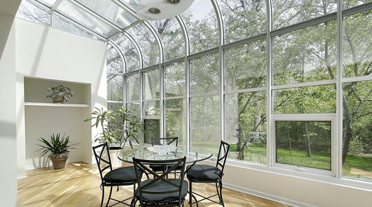 Skylights and sunroom windows