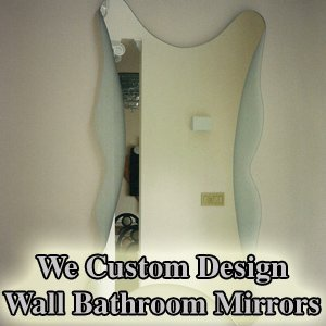 Custom Mirror - Philadelphia, PA  - G & R Custom Glass & Mirrors - custom mirror - We Custom Design Wall Bathroom Mirrors