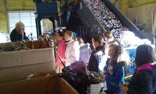 Girl Scouts Troop Tour