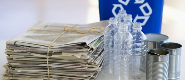 Newspapers recycling