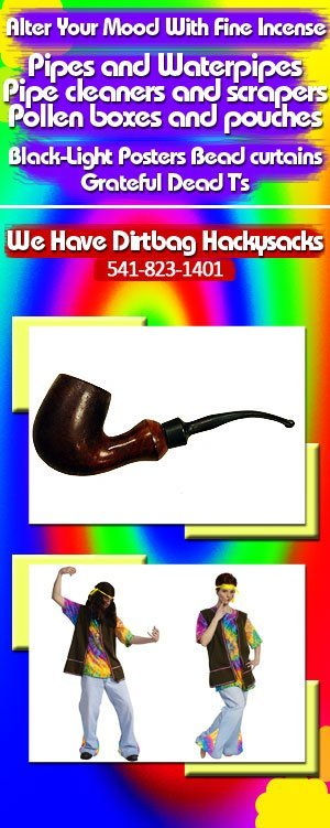 Tobacco Pipes & Novelty Items - Ontario, OR - The Happy Hippy Shop