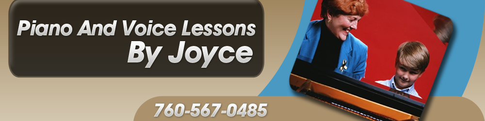 Piano Lessons - Indio, CA - Piano And Voice Lessons By Joyce