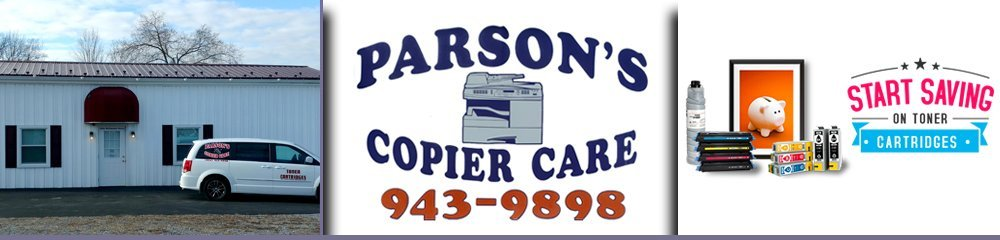 Office Equipment Altoona, PA -         Parson's Copier Care