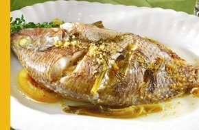 Tilapia with lemon