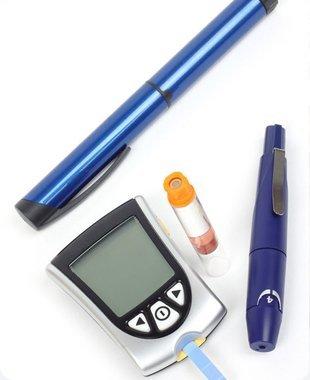 Digital blood sugar meter