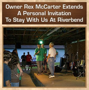Camping - Pigeon Forge, TN - Riverbend Campground
