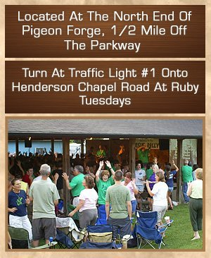 Campground - Pigeon Forge, TN - Riverbend Campground