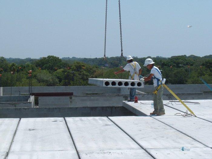 Lifting concrete slabs
