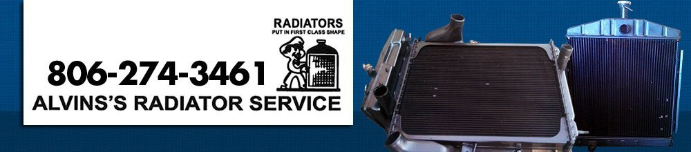 Radiator Borger, TX - Alvins's Radiator Service 806-274-3461