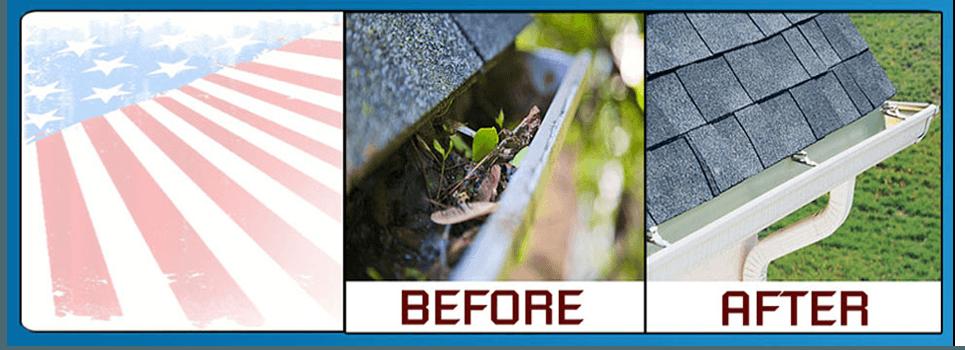 Gutter Cleaning | Fairfax, VA | Bryant's Powerwashing | 703-594-3040