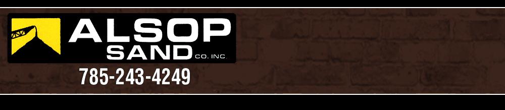 Masonry - Concordia, KS - Alsop Sand Co Inc
