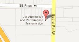 Al's Automotive & Performance Transmission Towing & Snowplow -  6270 Bethel Road SE Port Orchard, WA 98366