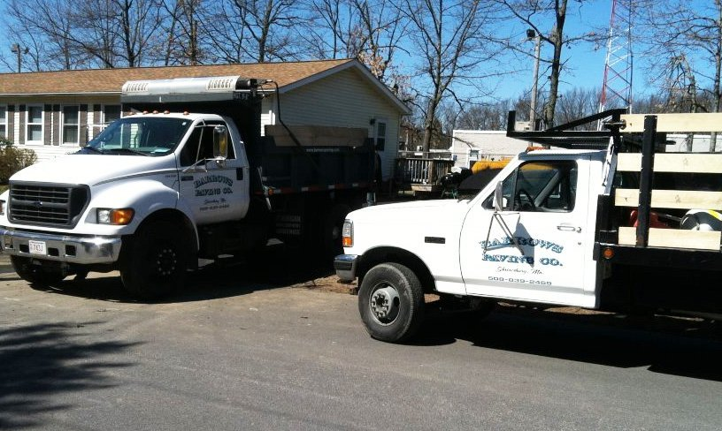 Barrows Paving & Excavating Co. vehicles