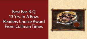 Menu - Cullman, AL - Johnny's Bar-B-Q - food - Best Bar-B-Q 13 Yrs. In A Row. -Readers Choice Award From Cullman Times