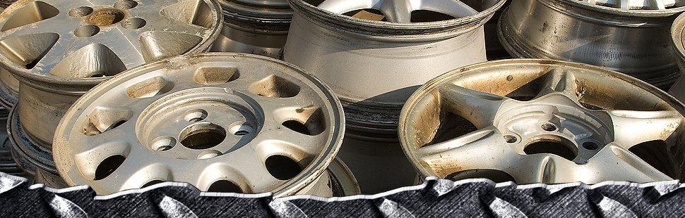 Scrap auto parts