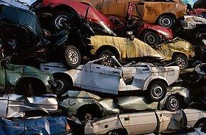 Scrap automobiles