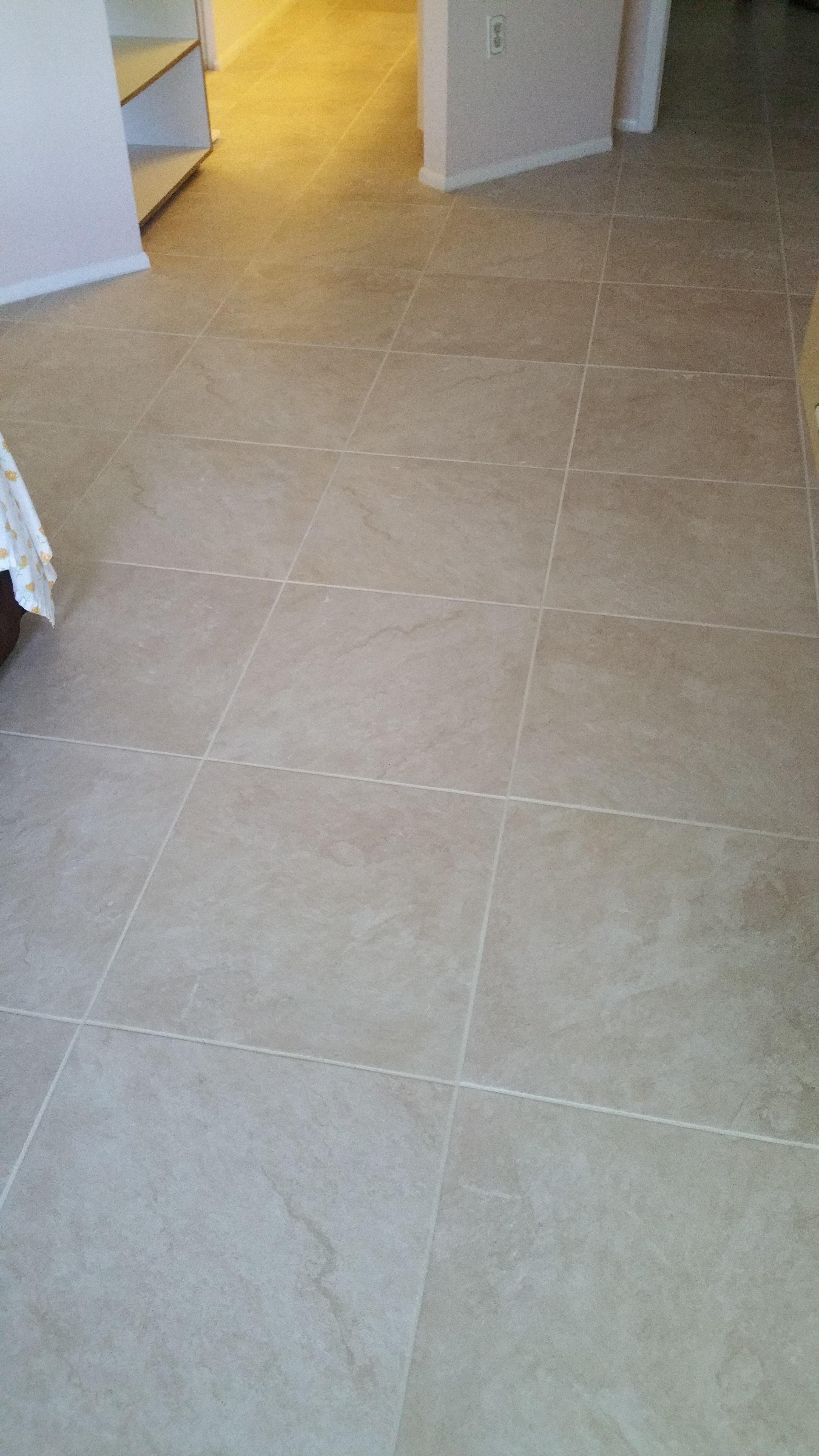 pale tan square tiling