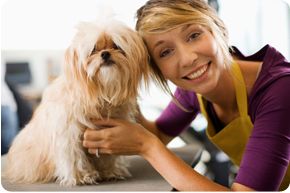 Friendly pet stylist