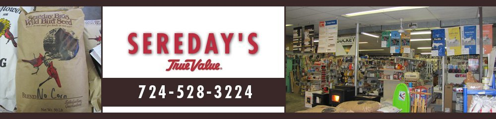 Feed Store Hermitage, PA - Sereday's True Value 724-528-3224