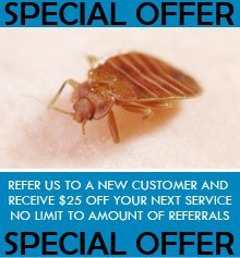 Pest Control - Ventura, CA - Kurt & Kyle Pest Control - bed bug - Refer us to a New Customer and Receive $25 off Your Next Service No Limit to Amount of Referrals