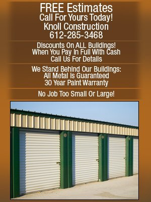 Storage Buildings - Minneapolis, MN - Knoll Construction