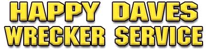 Happy Daves Wrecker Service - logo