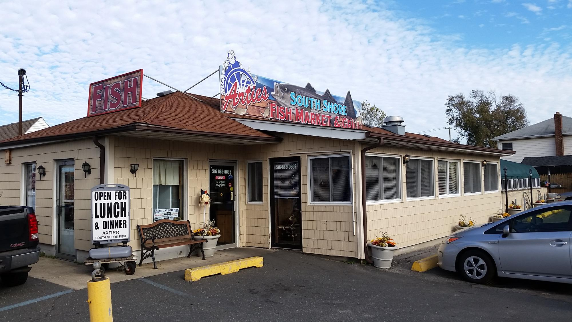 artie 39 s south shore fish market restaurant island park