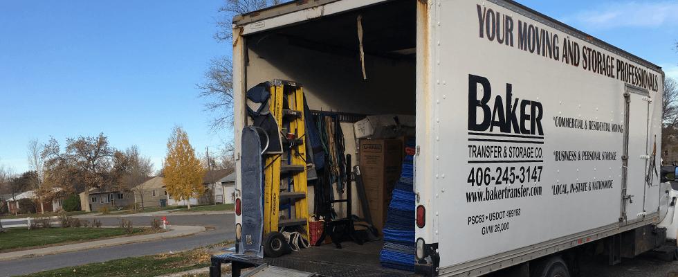 Baker transfer & storage trucks