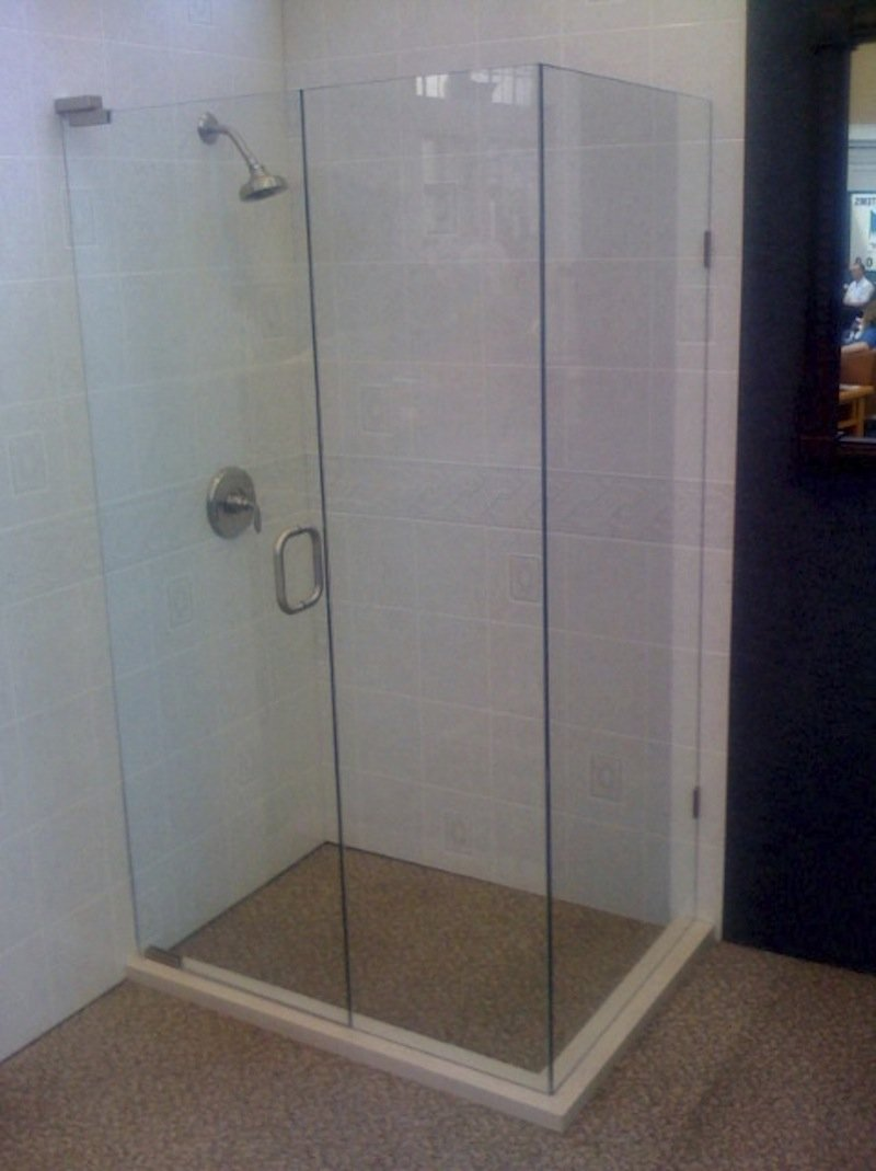 Turners Custom Showers 90 Degree Shower Enclosures Jacksonville Fl