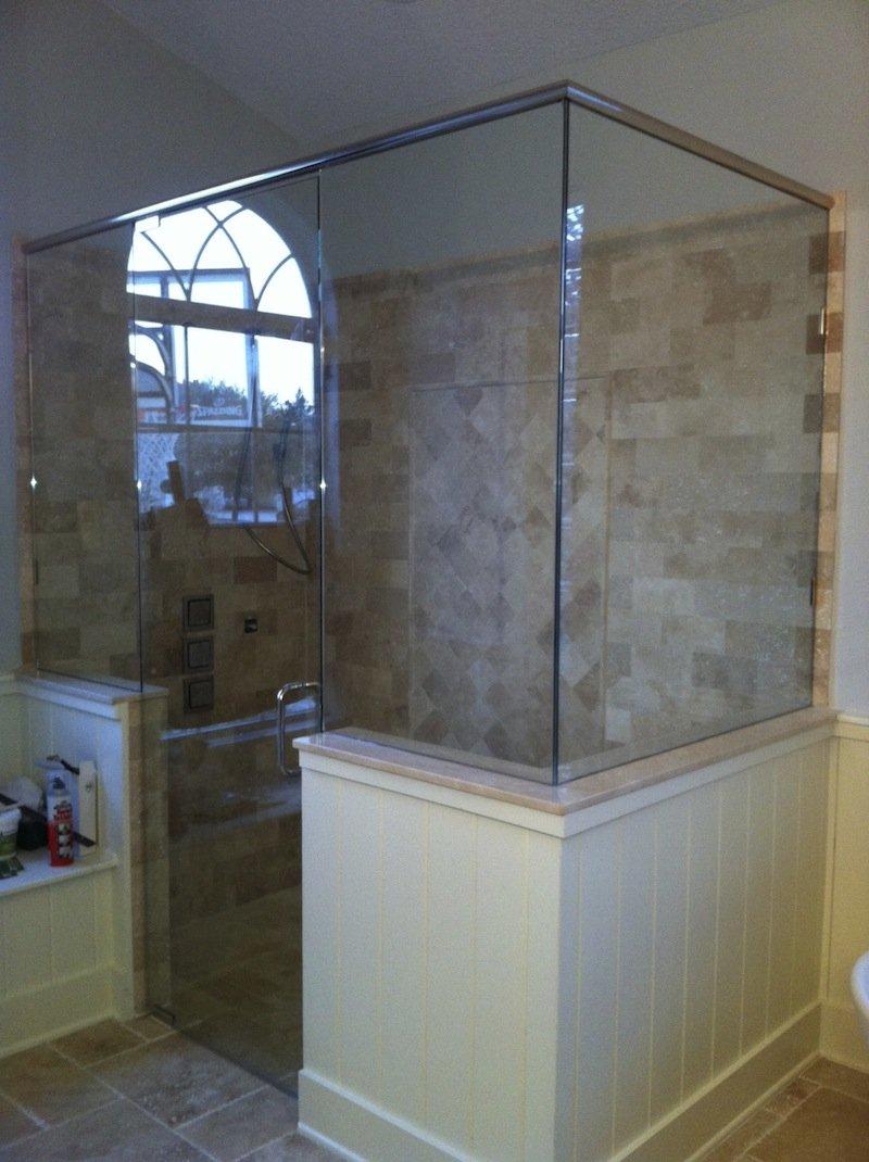 Turners Custom Showers 90 Degree Shower Enclosures